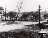 Maple Avenue and Plumtrees c. 1890