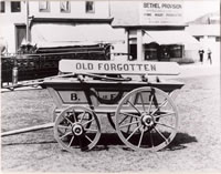 """Old Forgotten""....Bethel's first piece of fire apparatus."
