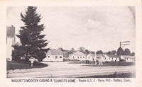 Nugent's Modern Cabins and Tourist's Home - Route U. S. 6 - Stony Hill