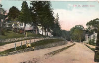 Elm Street (now Greenwood Avenue) c. 1910                             Note trolley off in the distance.